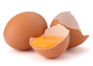 Eier offen