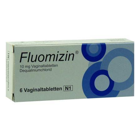 Vaginaltabletten Fluomizin 6 Stück