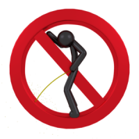 Pissen-Verbotsschild