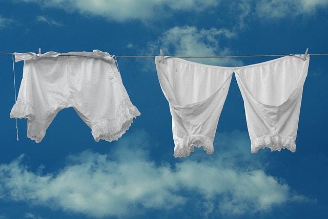 Wäsche für drunter