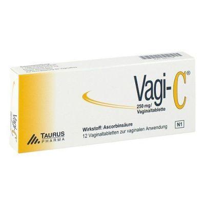 12 Stück Vaginaltabletten von Vagi-C