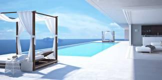 Pool in einer Villa