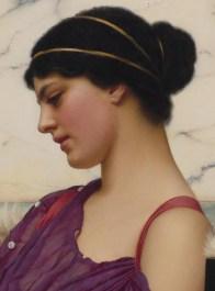 "John William Godward (English, 1861-1922), ""Ismenia"" (detail)"