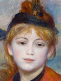 "Pierre-Auguste Renoir (French, 1841-1919), ""The Excursionist"" (detail, 1888)"