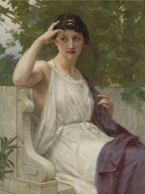 """Guillaume Seignac (French, 1870-1924), """"Happy Thoughts"""""""