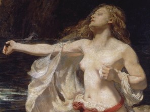"Herbert James Draper (English, 1863-1920), ""Ariadne"" (detail)"
