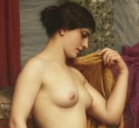 "John William Godward (English, 1861-1922), ""In the Tepidarium"" (detail)"
