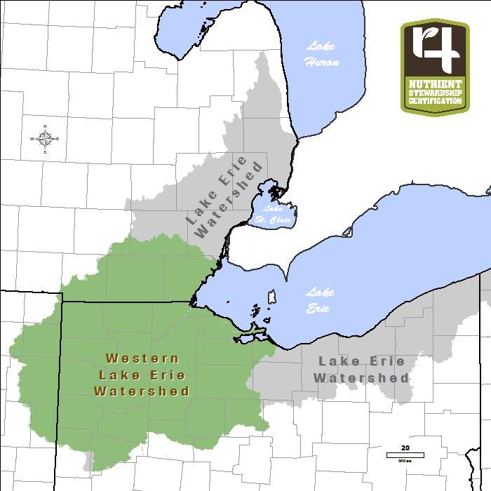 Lake Erie Western Basin Reef Map - Lake erie fishing hot spots map