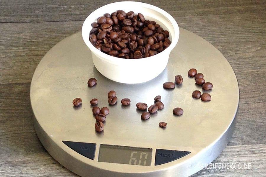 Zubereitung Bodum Kaffeebereiter
