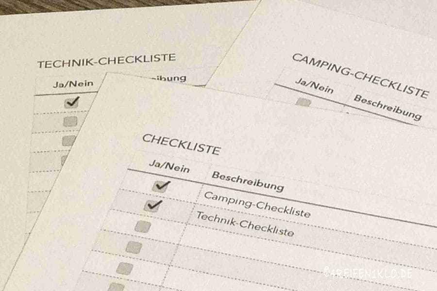 Checklisten