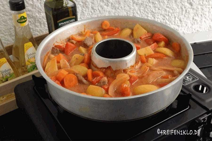 Kartoffel-Schaschliktopf