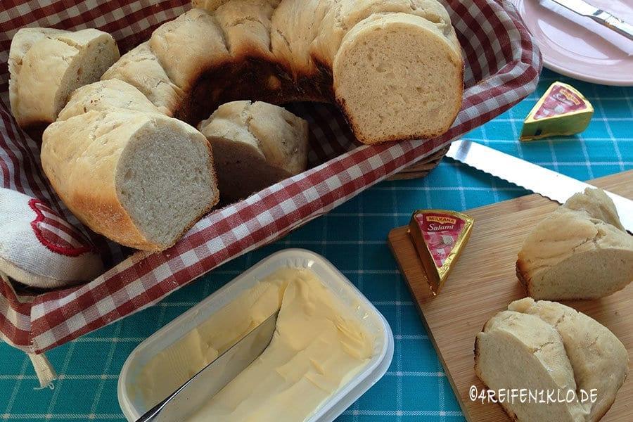 Omnia-Backrezept für Baguette