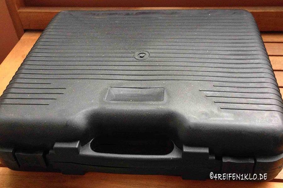 Gaskartuschenkocher im Koffer