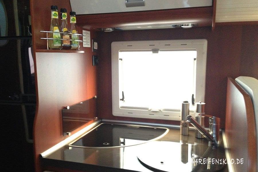 Kochen im Wohnmobil