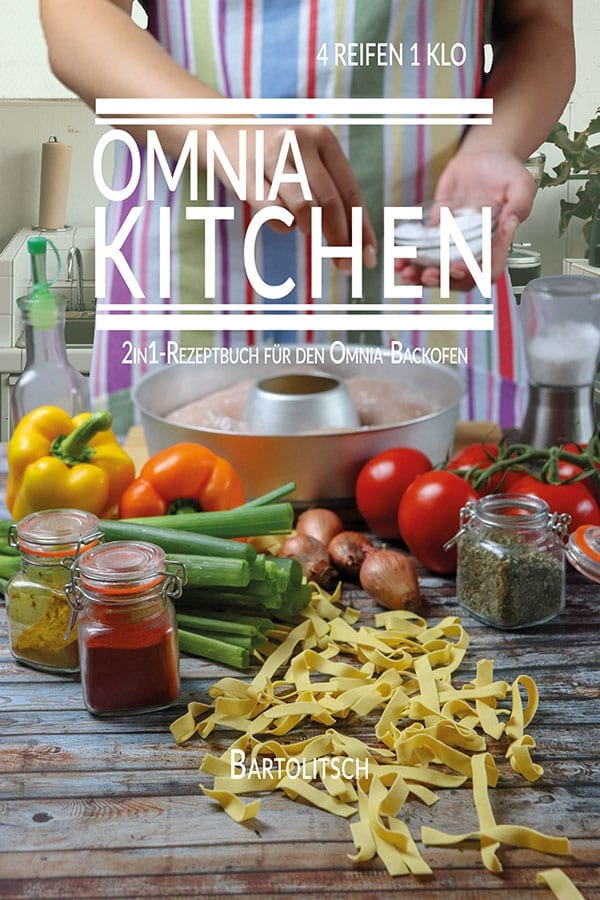 OMNIA-KITCHEN 2in1 Kochbuch