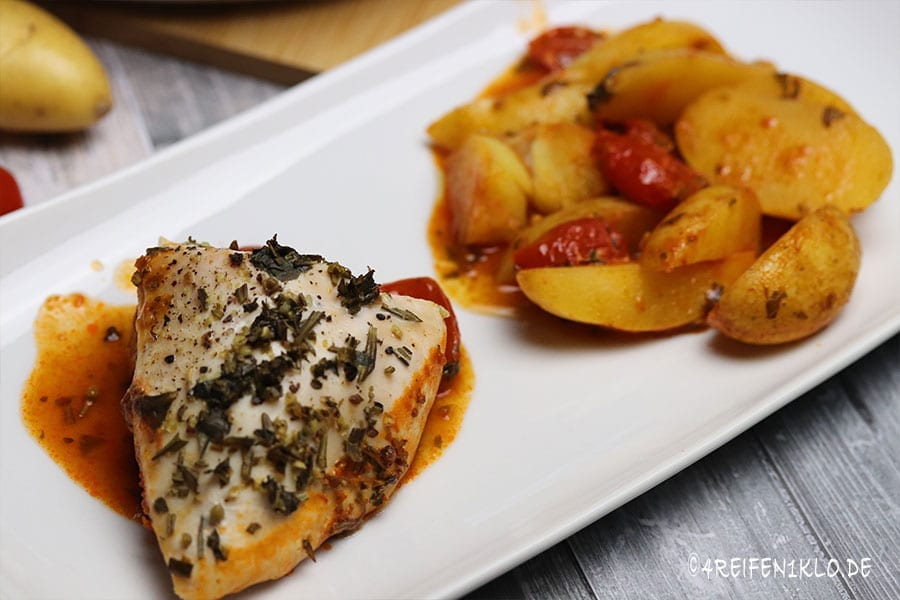 Toskanisches Huhn Omnia-Backofen