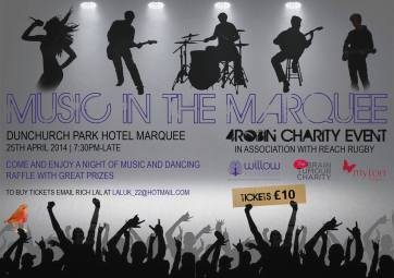Music in the Marquee raising £2709