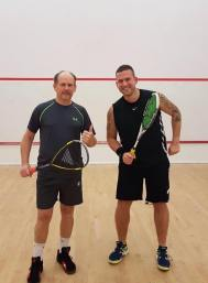 Simon Millward & Roger Moore competing for the Cup