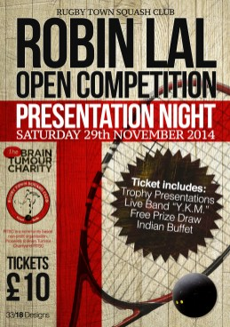 The Robin Lal Open Squash Competition