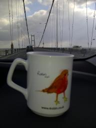 Humber Bridge - Mugs on Tour
