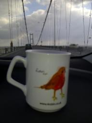 Humber Bridge - Mugs on Tour