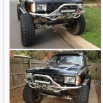 1st Gen Pickup Grill On 2nd Gen Pickup Runner Toyota 4runner Forum 4runners Com