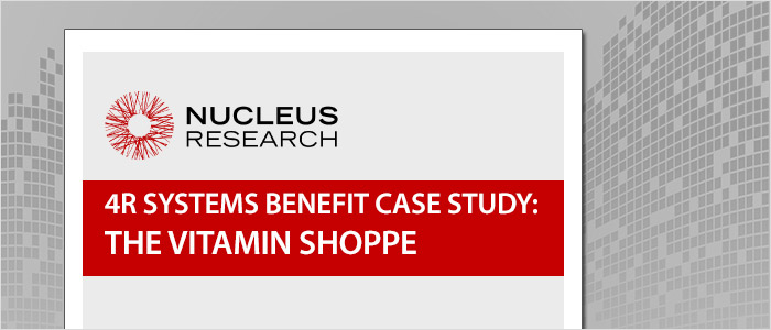 Nucleus Research Benefit Report