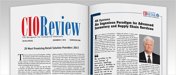 CIO Review Most Promising Retail Solution Providers