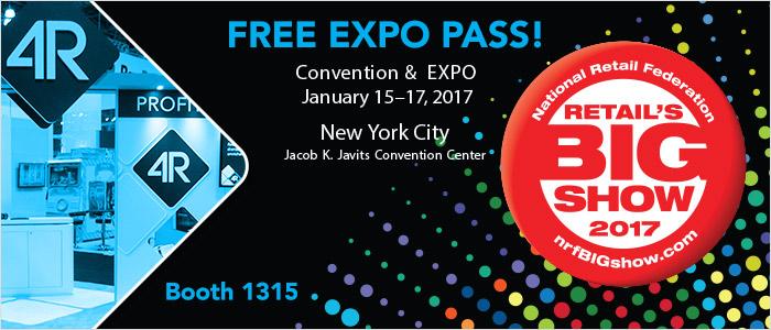 NRF 2017 Free Expo Pass