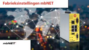 4S-video Fabrieksinstellingen laden mbNET