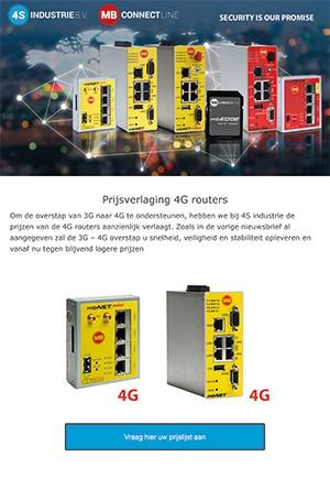 Nieuwsbrief 2020 06 - Prijsverlaging 4G routers van MB connect line