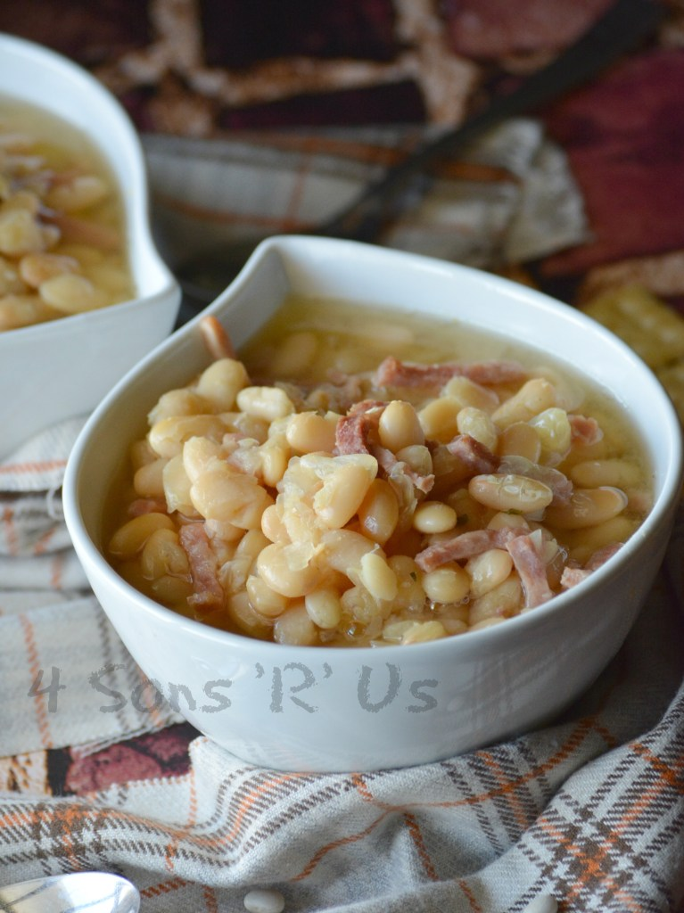 crockpot-ham-white-bean-soup