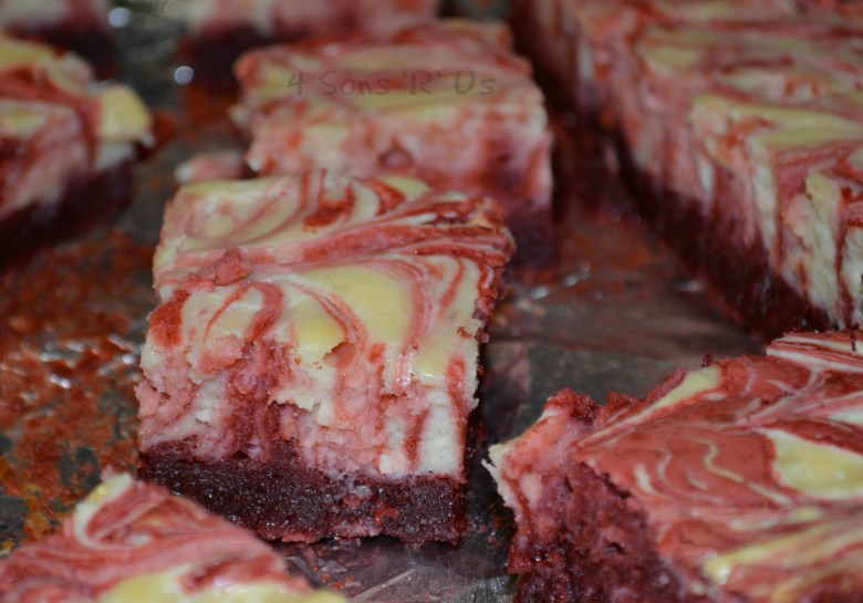 Red Velvet Cheesecake Brownies 2