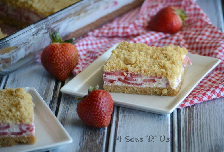 Strawberry Crunch Bars 4