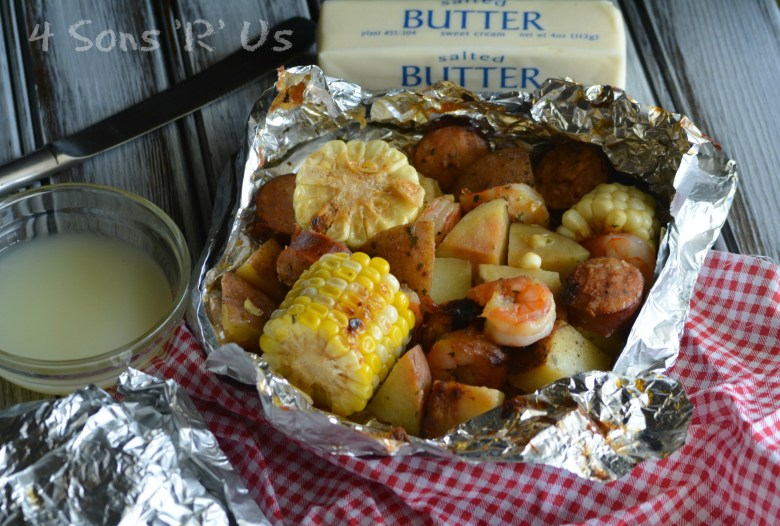 Low Country Boil Foil Packets 2