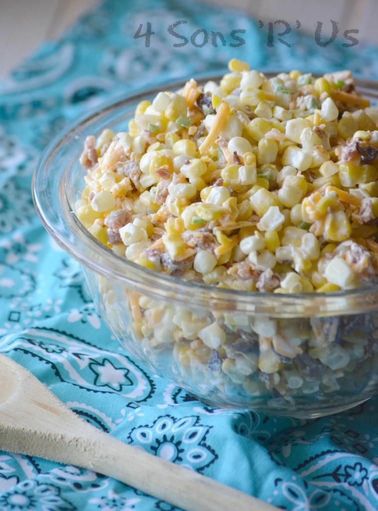 Jalapeno Popper Grilled Corn Salad