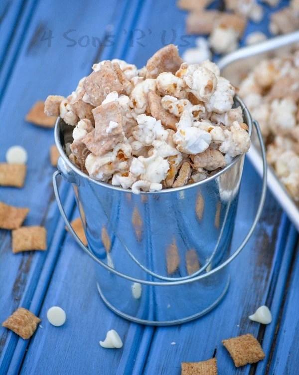 Cinnamon Toast Crunch White Chocolate Popcorn