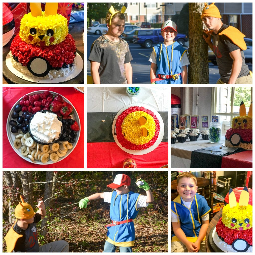 How To Host A Pokemon Birthday Party On A Budget 4 Sons R Us