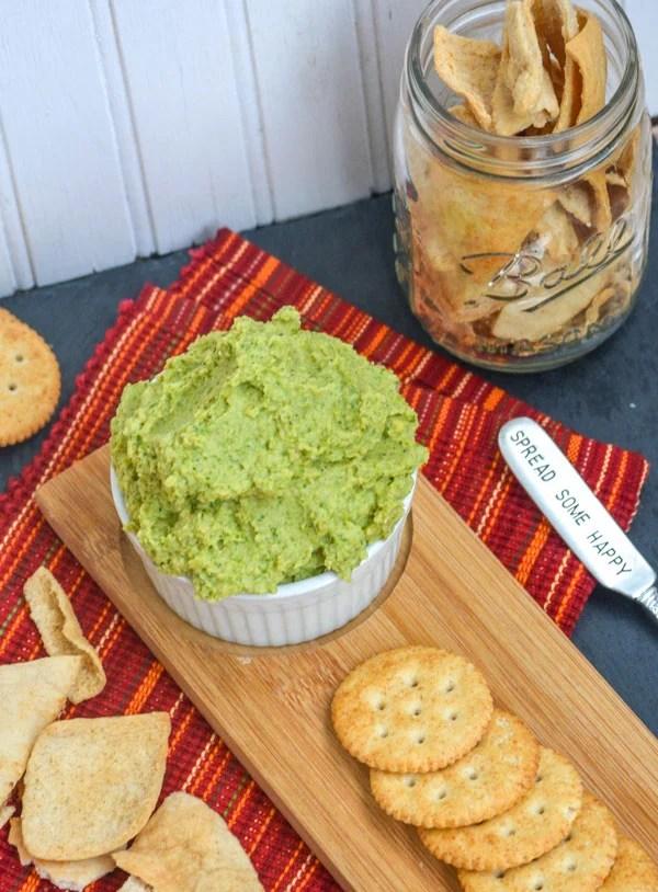 Nonna's Homemade Broccoli Hummus Dip