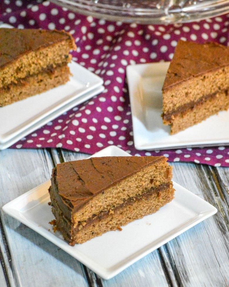 Old Fashioned Chocolate Church Cake