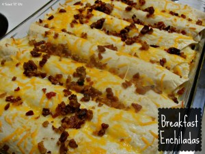 4 Sons 'R' Us: Breakfast Enchiladas