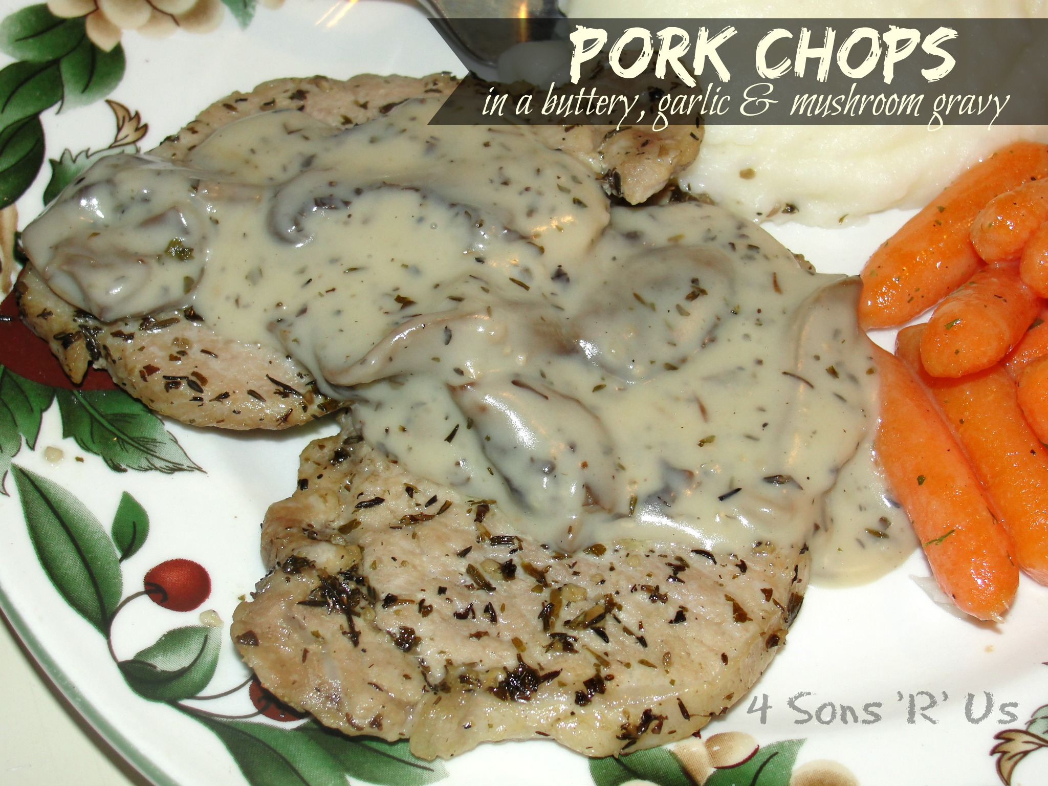 how to cook pork chops with cream of mushroom soup