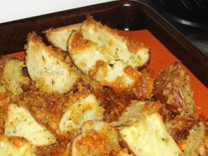 Crispy Cheddar Oven Fries