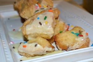 Cake Batter Monkey Muffins 2