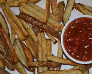 Mexican Street Fries & Salsa Ketchup 2