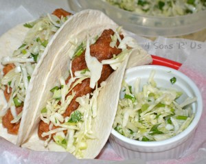 Beer Battered Fish Tacos and Cilantro Slaw 3
