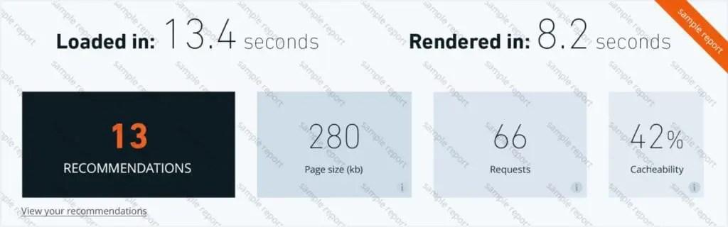 free wordpress speed checking tool