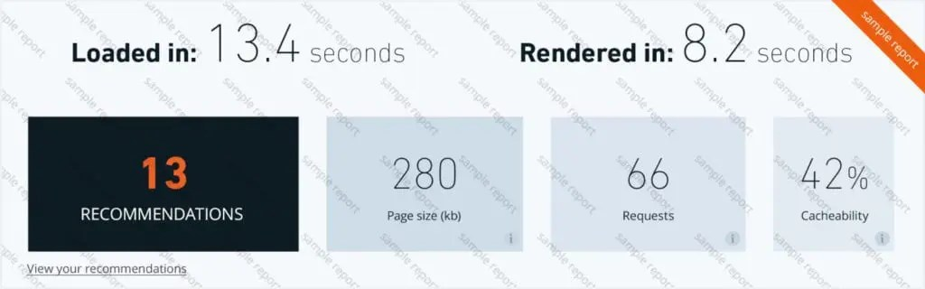 free wordpress speed checking tool