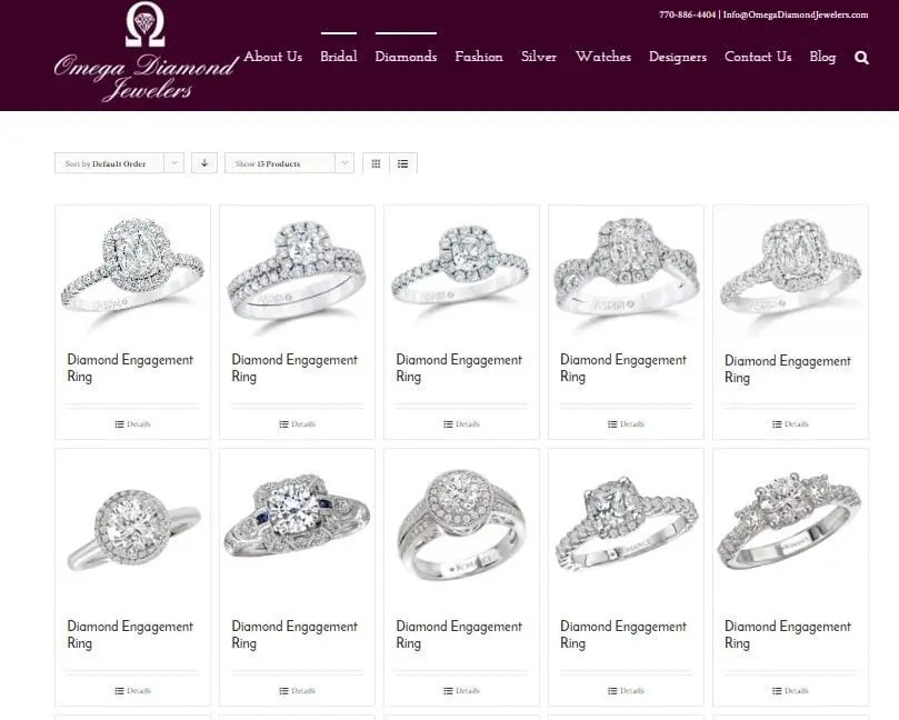 Jewelry Marketing Websites SEO