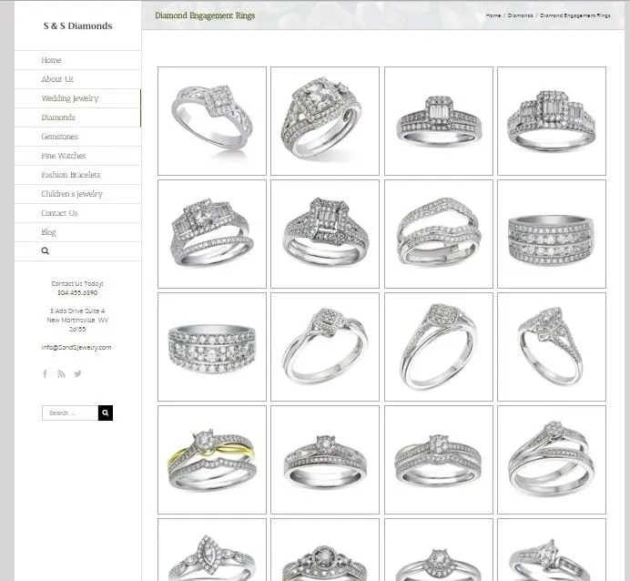 Jewelry Store Web Designer 4Spot Marketing